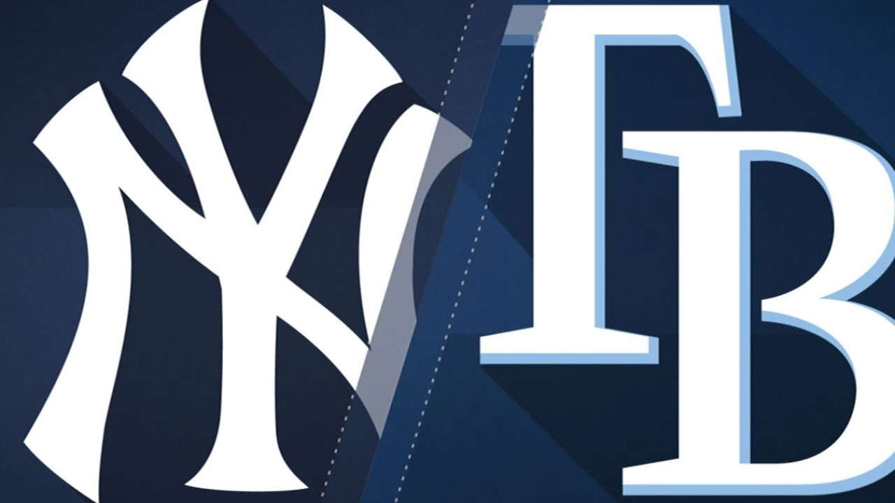 Hechavarria helps Rays even series with Yankees