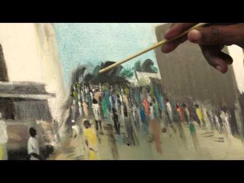 Somali American artist paints vision of home thumbnail