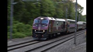 Amtrak & Mbta Rush W/Equiptment Moves, Hornshows, Meets & More!!! 6.28.17