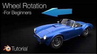 [2.8] Blender Tutorial: Wheel …