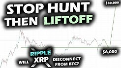 LOOK OUT FOR A BIGGER THAN EXPECTED MOVE with Bitcoin! Will the Ripple XRP Price Chart Decouple?!