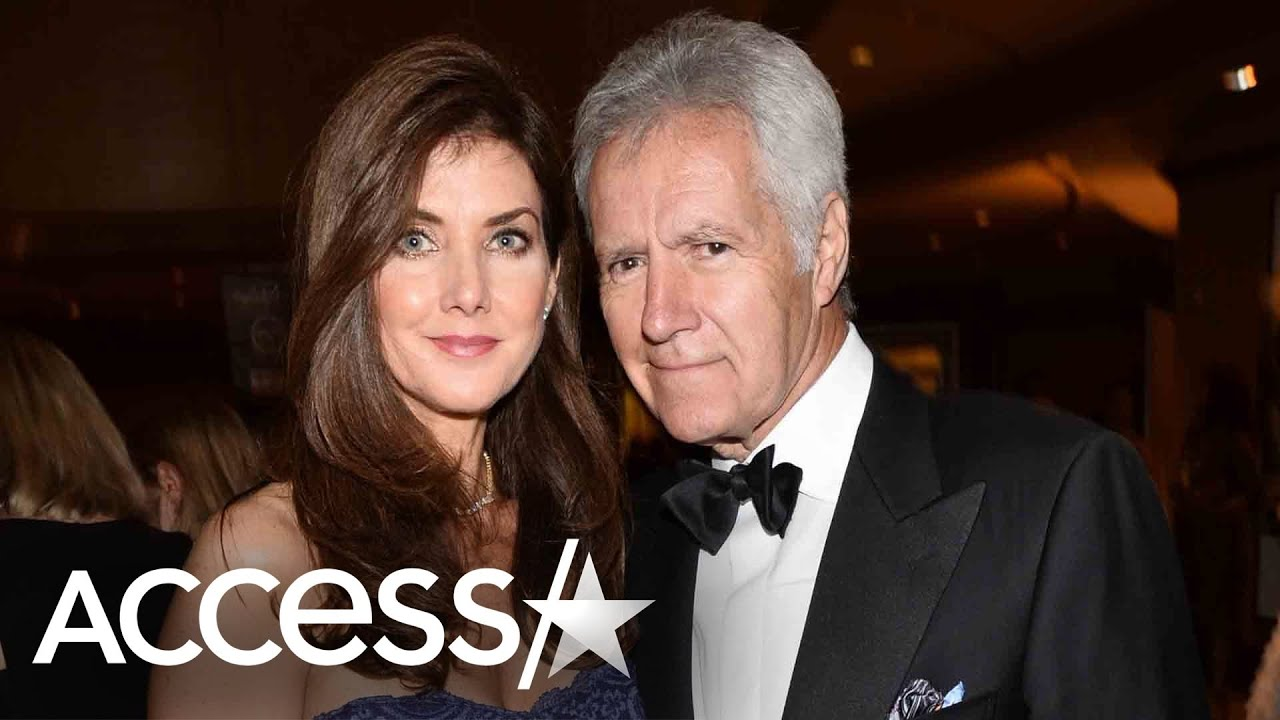 Alex Trebek's wife Jean shares photo of their wedding, thanks fans ...