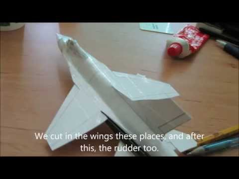 how to make the f16 paper airplane doovi