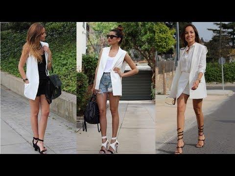 C чем и как носить белую куртку