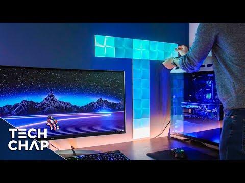 Nanoleaf Canvas Smart Lights - SETUP & REVIEW! | The Tech Chap