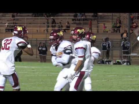 Samaj Parker big hit for Long Beach Wilson High School Football
