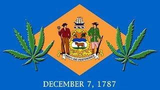 Delaware 20th U.S. State to Decriminalise Cannabis