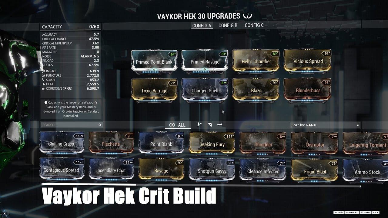 Attica warframe builder hek