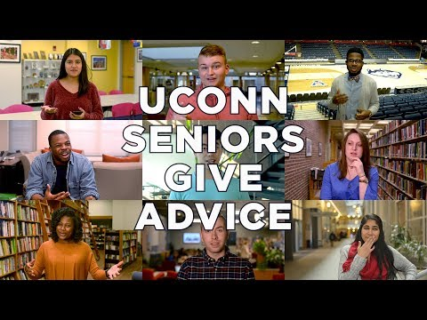 UConn Seniors Give Advice