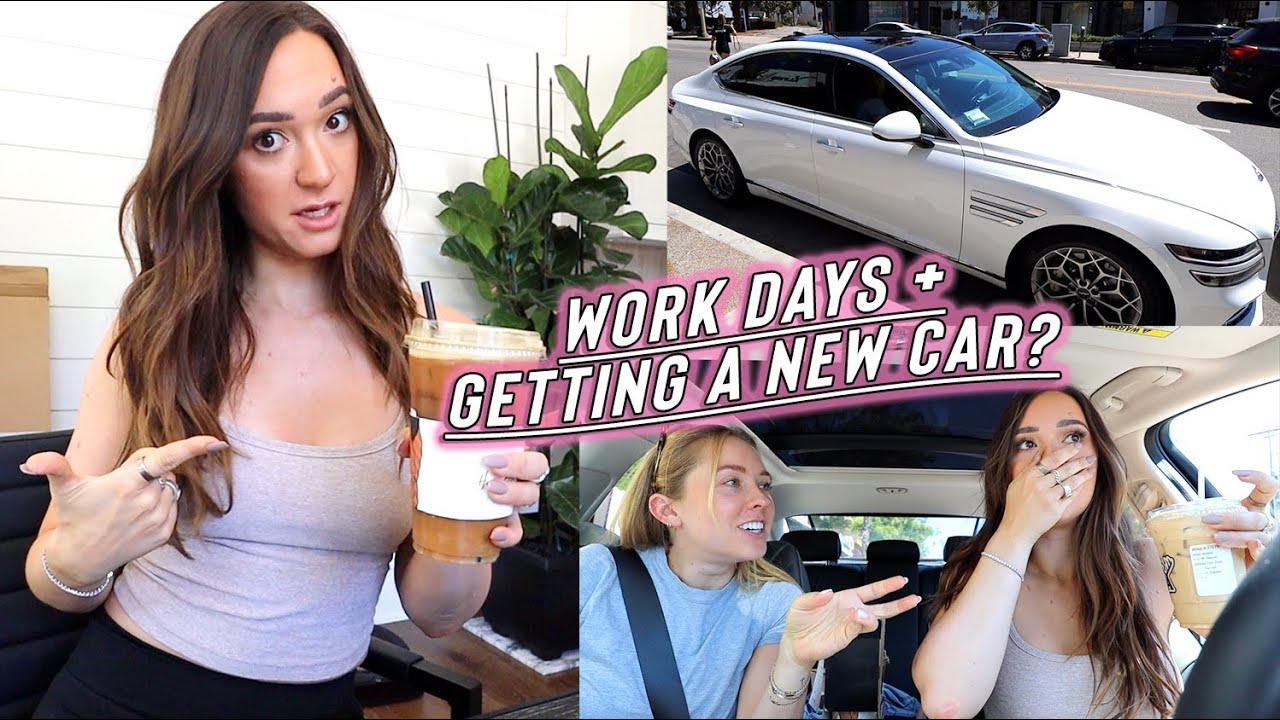 productive work day in my life + getting a new car?!