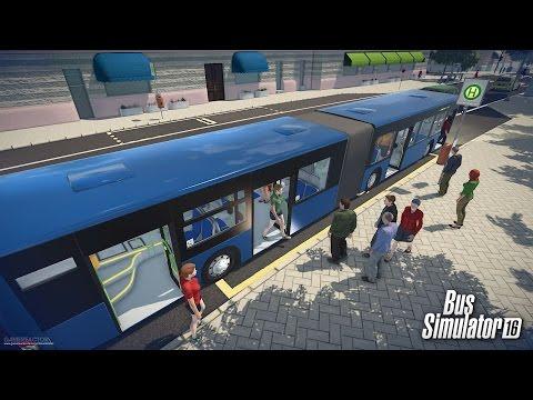 Обзор игры Bus Simulator 16 / Симулятор автобуса [1080p]