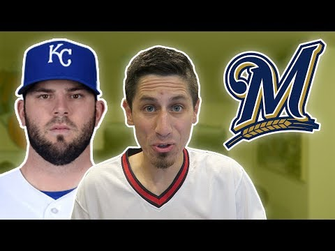 MIKE MOUSTAKAS TRADED TO MILWAUKEE BREWERS REACTION
