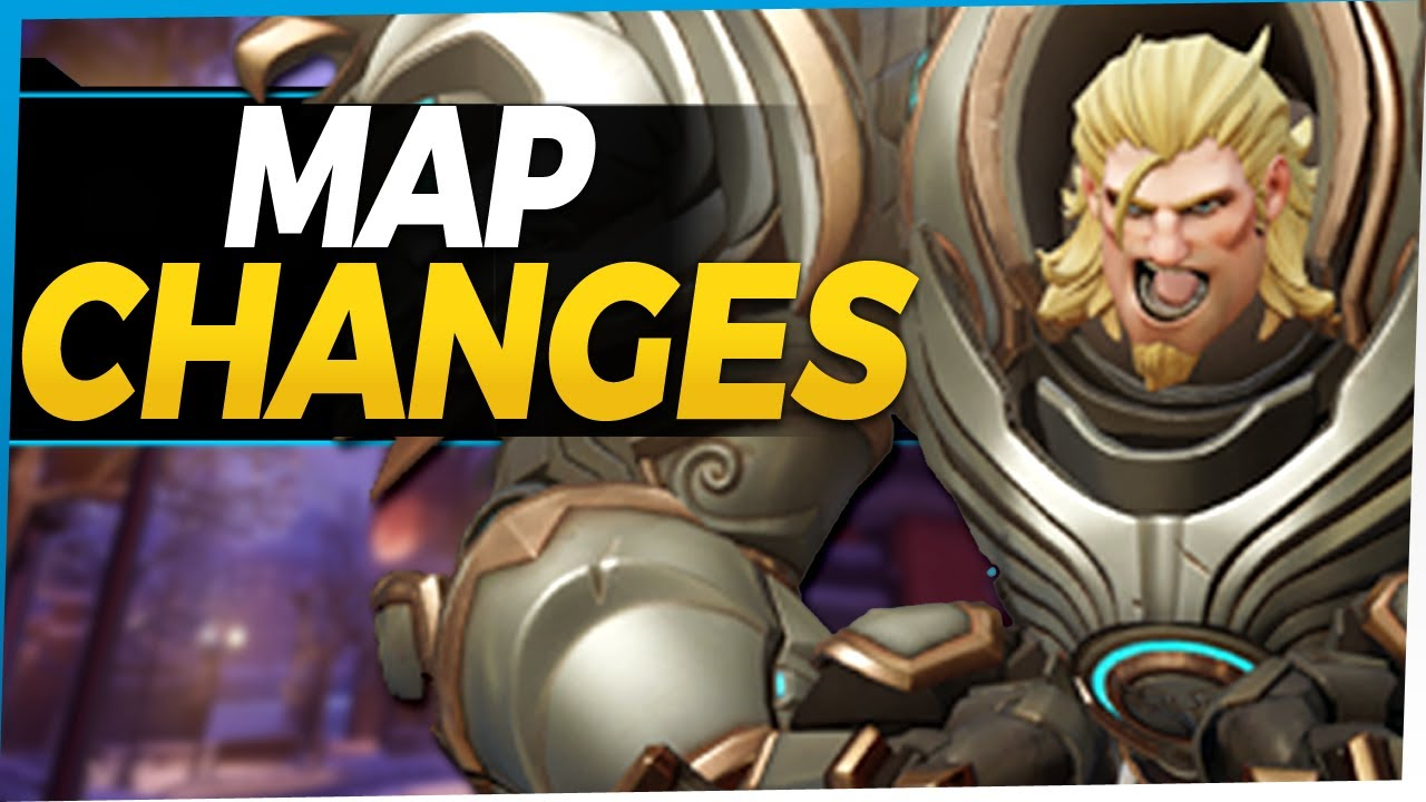 Overwatch Map Changes and New Voicelines