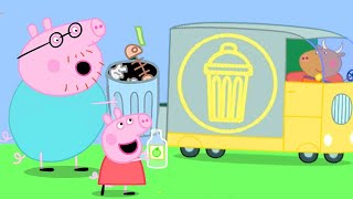Peppa Pig Channel | Peppa Pig and the Garbage Truck