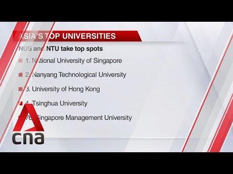 NUS And NTU Top QS World University Rankings In Asia