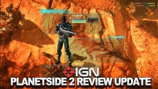 PlanetSide 2 - Review in Progress Commentary 2 (Video Game Video Review)