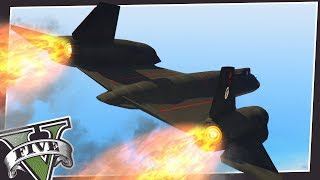 FLYING AT MACH 3 IN GTA 5 (OVER 2000MPH!)