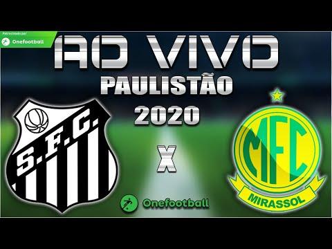 Santos 3x1 Mirassol | Paulistão 2020 | 9ª Rodada