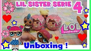 Baixar LOL SURPRISE serie 4!! APRIAMO DUE NUOVE LIL - Toy hunting unboxing by Lara e Babou