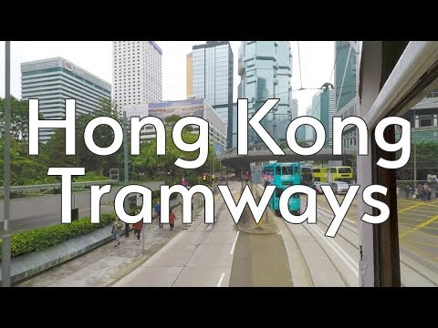 Riding Hong Kong tramways