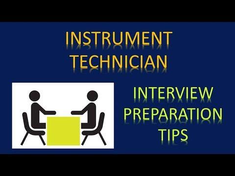 Instrumentation Interview Preparation Tips