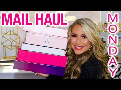 Mail Haul Monday ft Glambot, Too Faced , Urban Decay & more!!