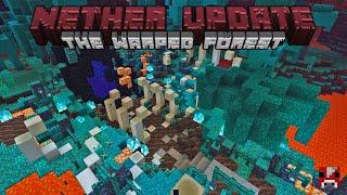 Minecraft Timelapse - 1.16 NETHER UPDATE - Warped Forest Nether Portal