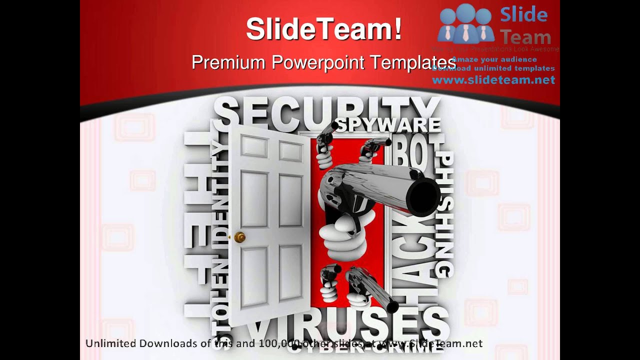 Cyber crime security powerpoint templates themes and backgrounds cyber crime security powerpoint templates themes and backgrounds graphic designs youtube toneelgroepblik