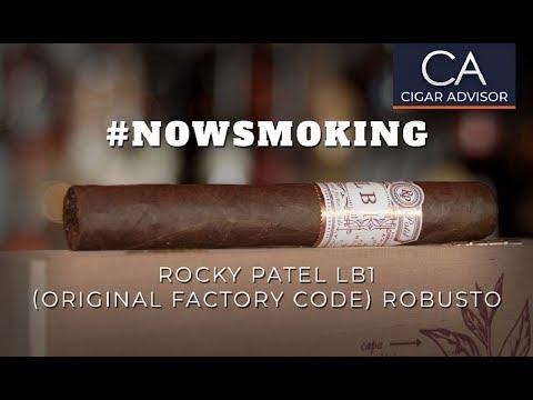 #nowsmoking:  Rocky Patel LB1 Robusto Cigar Review
