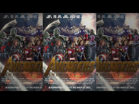 Avengers: Infinity War Cinema Poster Speedart | by Dennis4HD