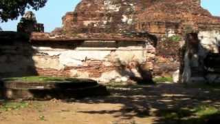 2009年 タイランド (8) アユタヤ歴史公園