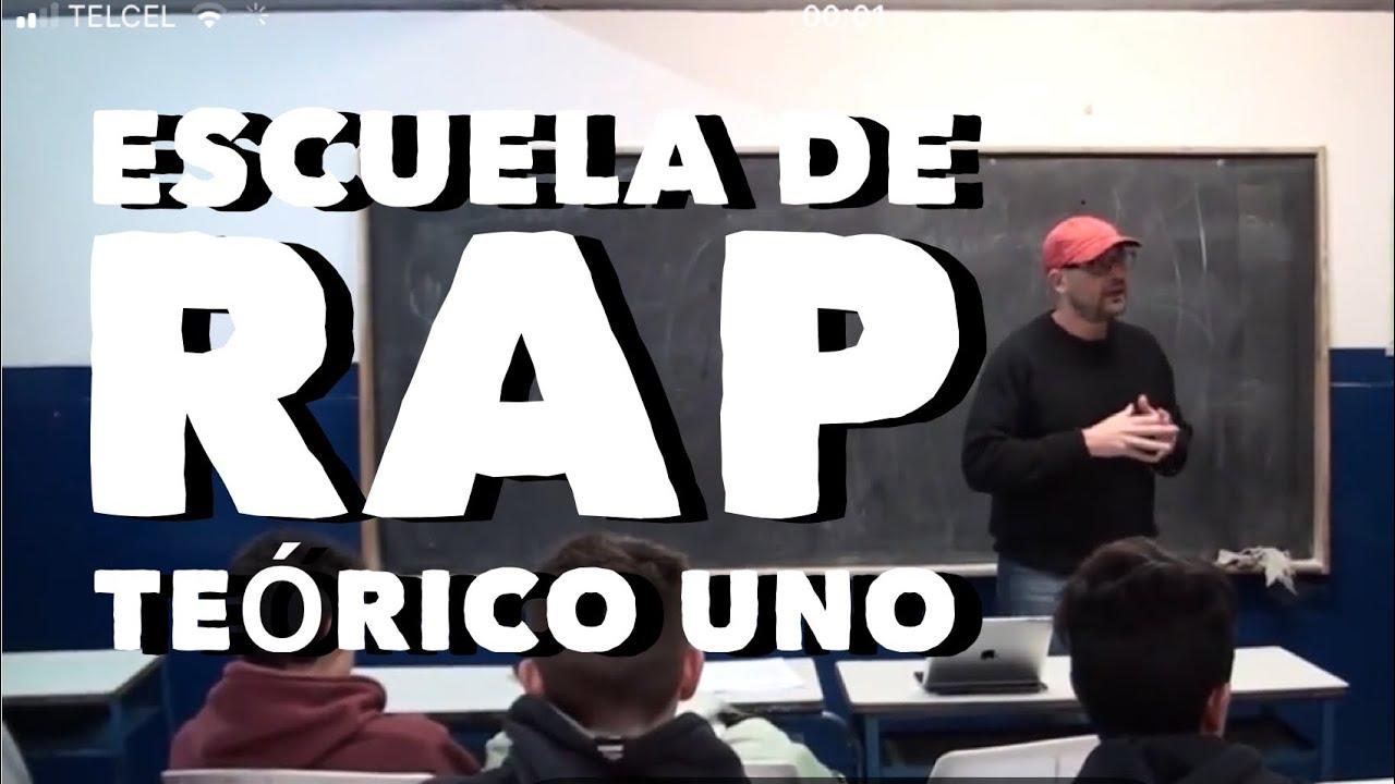 Escuela de rap, teórico uno: Métrica, estructuras, rimas y acentos.