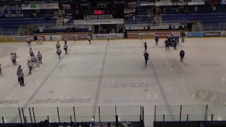 Roki vs Red Wings, naisten mestis 10.3.2018