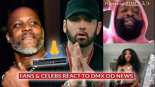 Fans And Celebrities React To DMX News: Eminem, Rick Ross, Ice Cube, LL Cool J, Kid Cudi & More