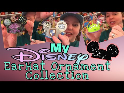 Disney Ear Hat Ornament Collection