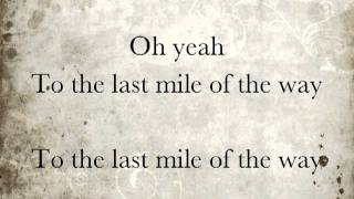 Last Mile of the Way lyrics - Westlife (Greatest Hits 2011)