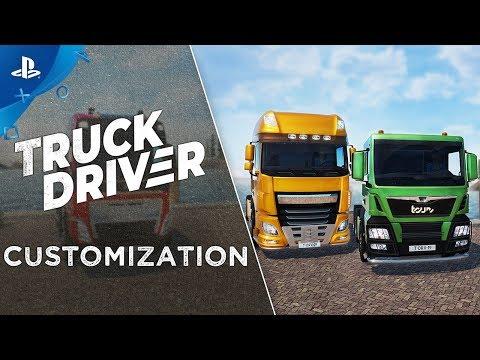 Truck Driver -  Feature Showcase: Customization   PS4
