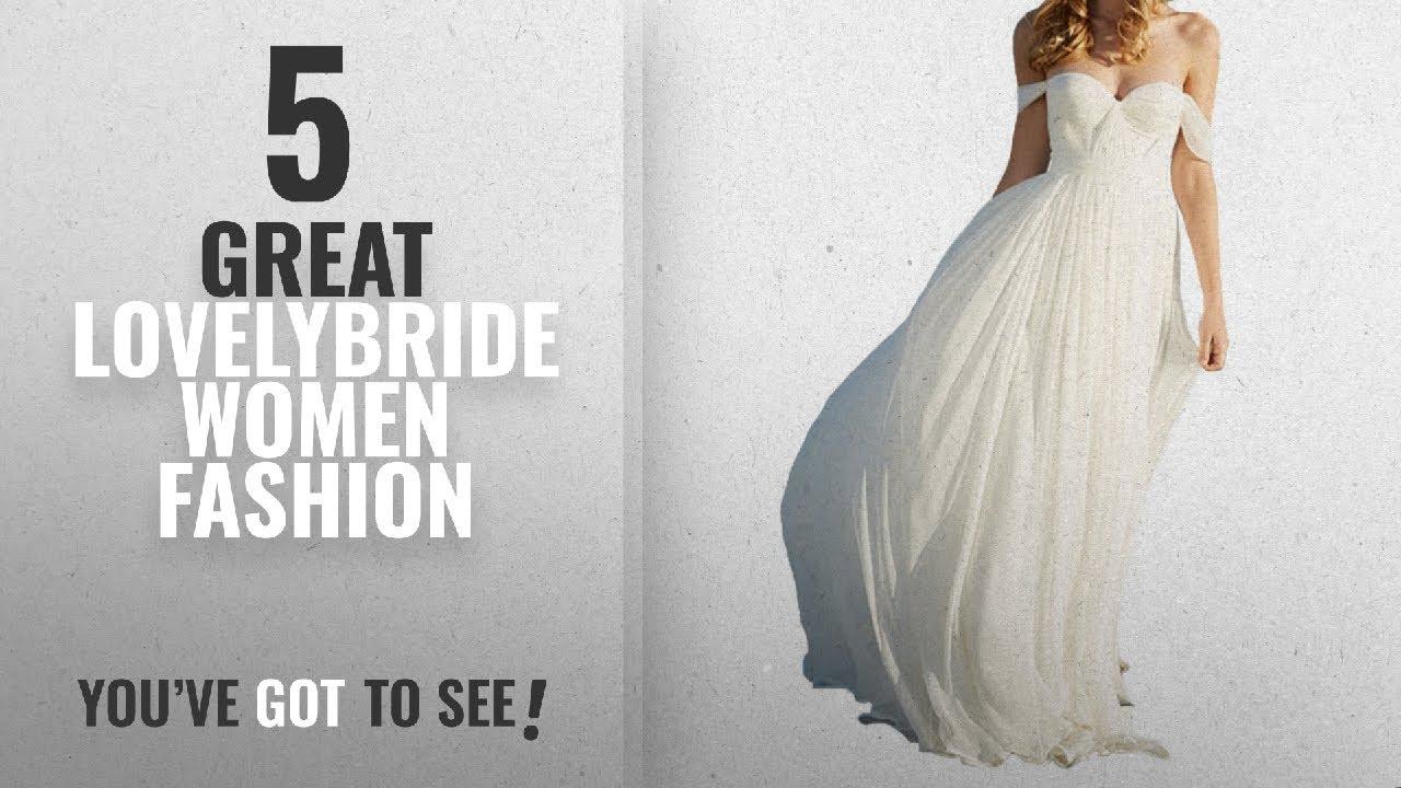 980535a093 Lovelybride Women Fashion [2018 Best Sellers]: Lovelybride Elegant a Line Empire  Long Chiffon Bridal