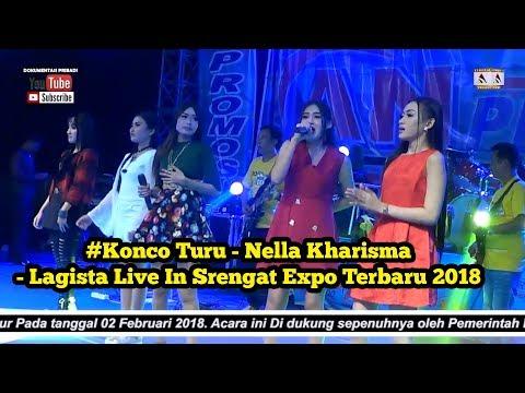#Konco Turu - Nella Kharisma - Lagista Live In Srengat Expo Terbaru 2018