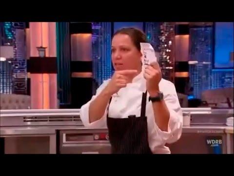 Hell's Kitchen - Sous Chef Christina Destroys Jackie