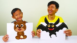 Educational Activity Finger Color Painting for Kids
