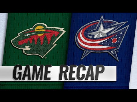 Dubois, Nash help Blue Jackets top Wild
