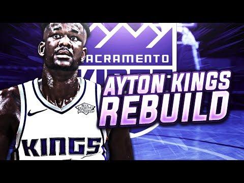 NEXT DWIGHT HOWARD? DEANDRE AYTON KINGS REBUILD! NBA 2K18