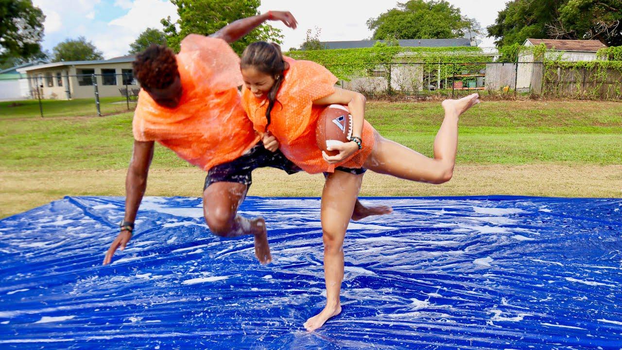 she-trucked-me-like-todd-gurley-bubble-wrap-slip-n-slide-football-vs-my-gf