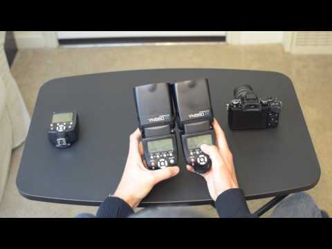 Yongnuo YN560IV tx mode: How to trigger off camera flash with on camera flash