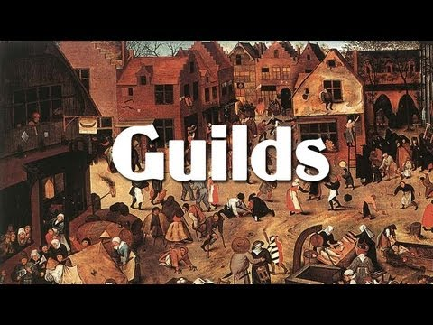Trade and guild system in middle ages