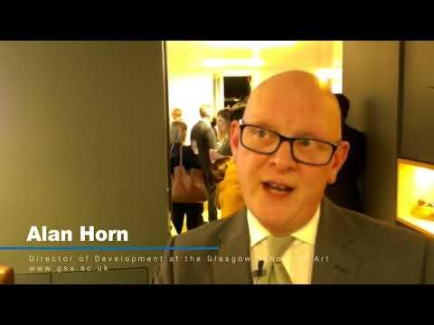 Alan Horn, Director of Development at Glasgow School of Art