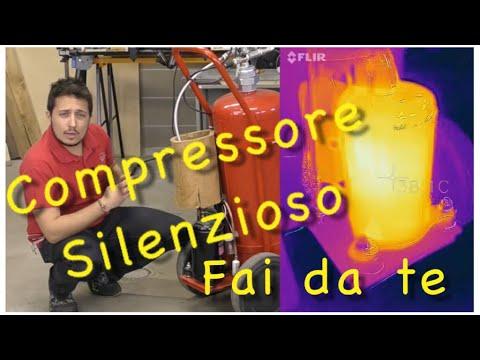 Fai da te tutorial compressore silenzioso youtube for Frigorifero silenzioso