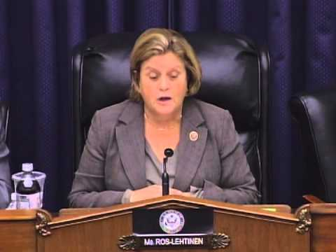 Subcommittee Chairman Ros-Lehtinen Opening Statement at Hearing on Morocco
