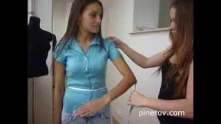 Как снимать мерки? PINEROV.COM Интернет-магазин свадебных платьев